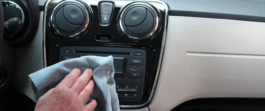Foto para post no blog sobre cuidados com o interior do carro
